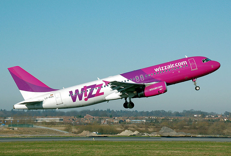 Burgas airport - WizzAir Airline company