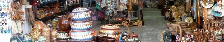 Bulgaria souvenirs. Sunny Beach souvenir shops